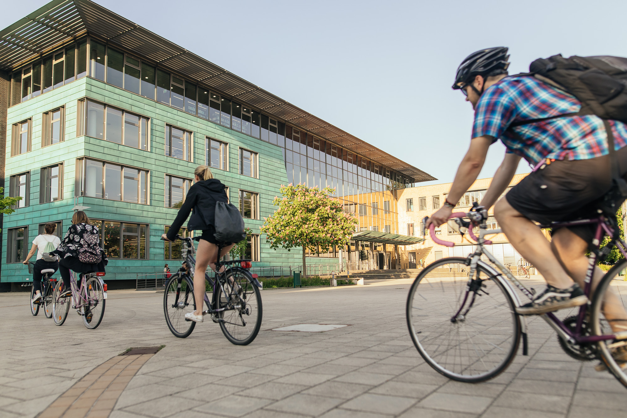 Cyclists in Greifswald - Greifswald is Cycling Capital