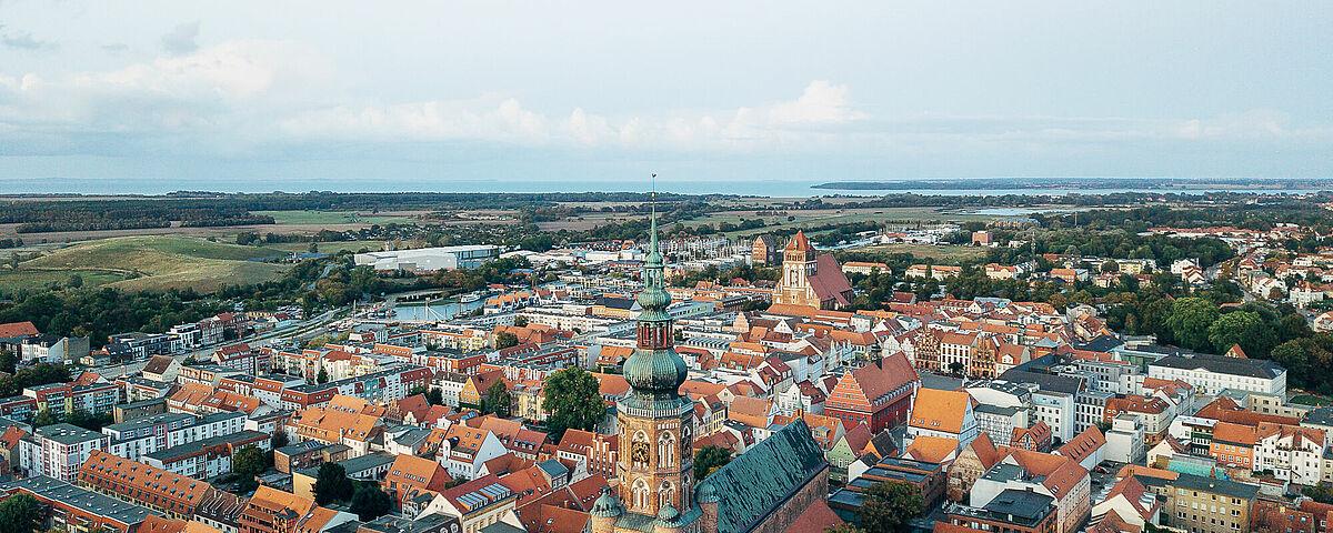 Greifswalder Stadtpanorama - Foto: Till Junker
