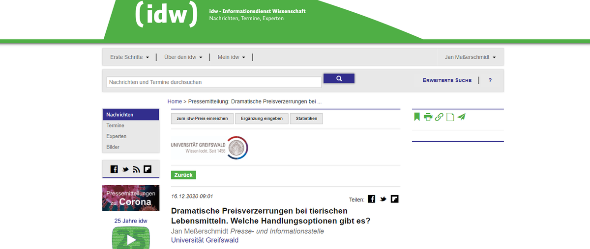 screenshot idw-online.de