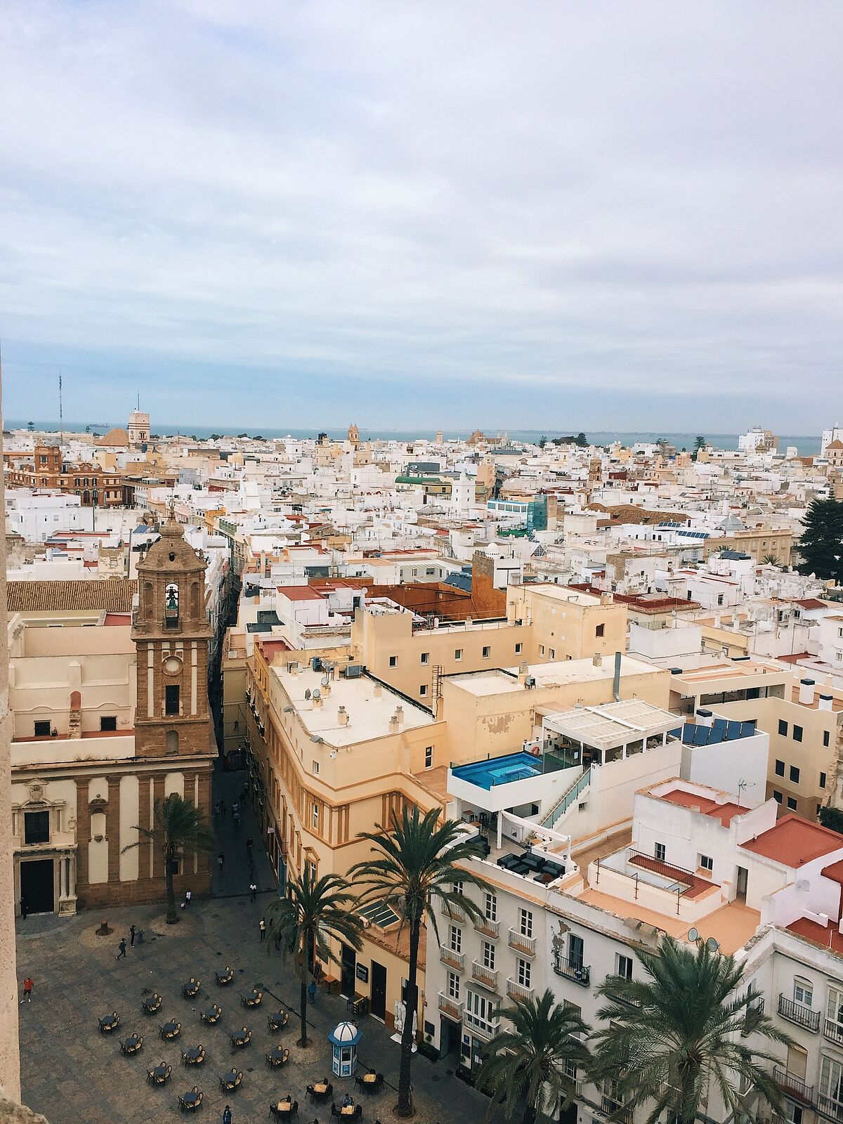 Cádiz von oben - Photo Credits: Celina Peters