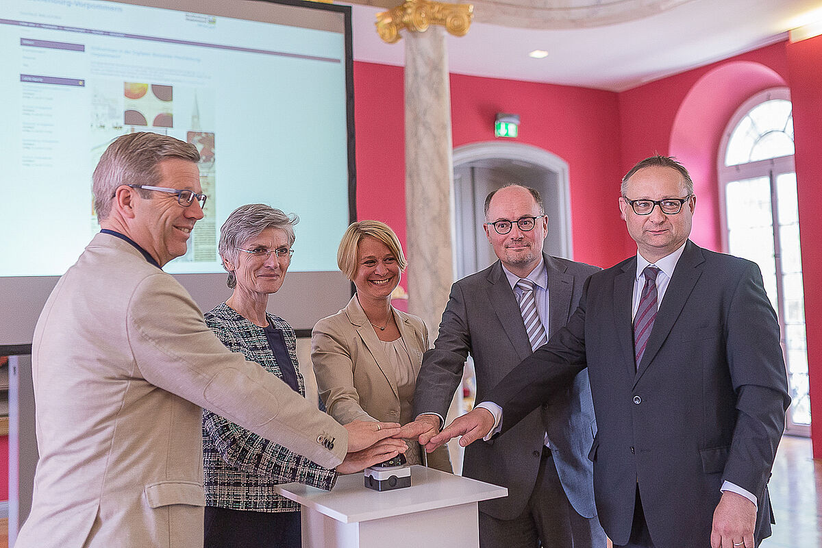 Start der Digitalen Bibliothek M-V