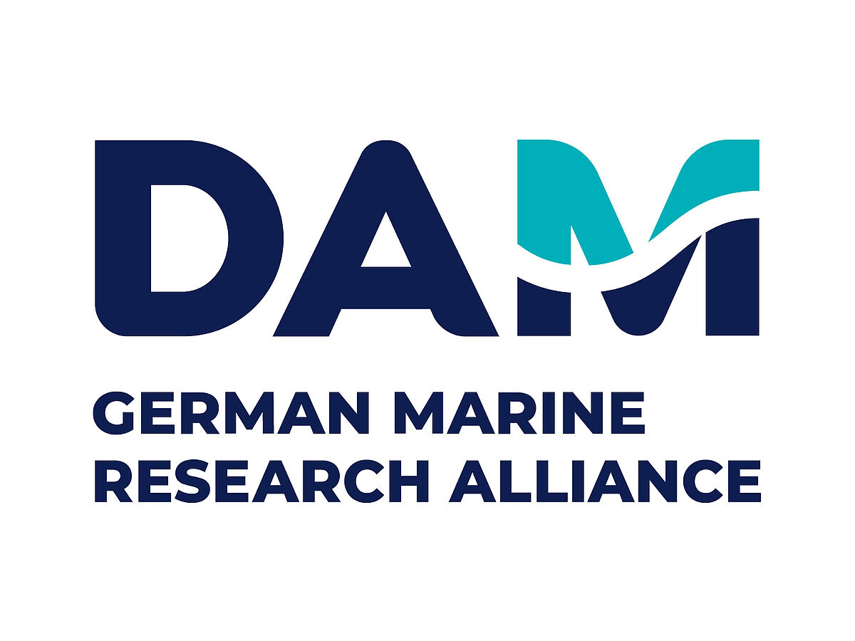Logo German Marine Research Alliance (DAM)