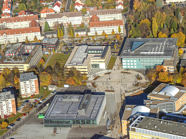 The new Helmholtz Institute is to be constructed on the Beitzplatz Campus, ©Walter_Graupner
