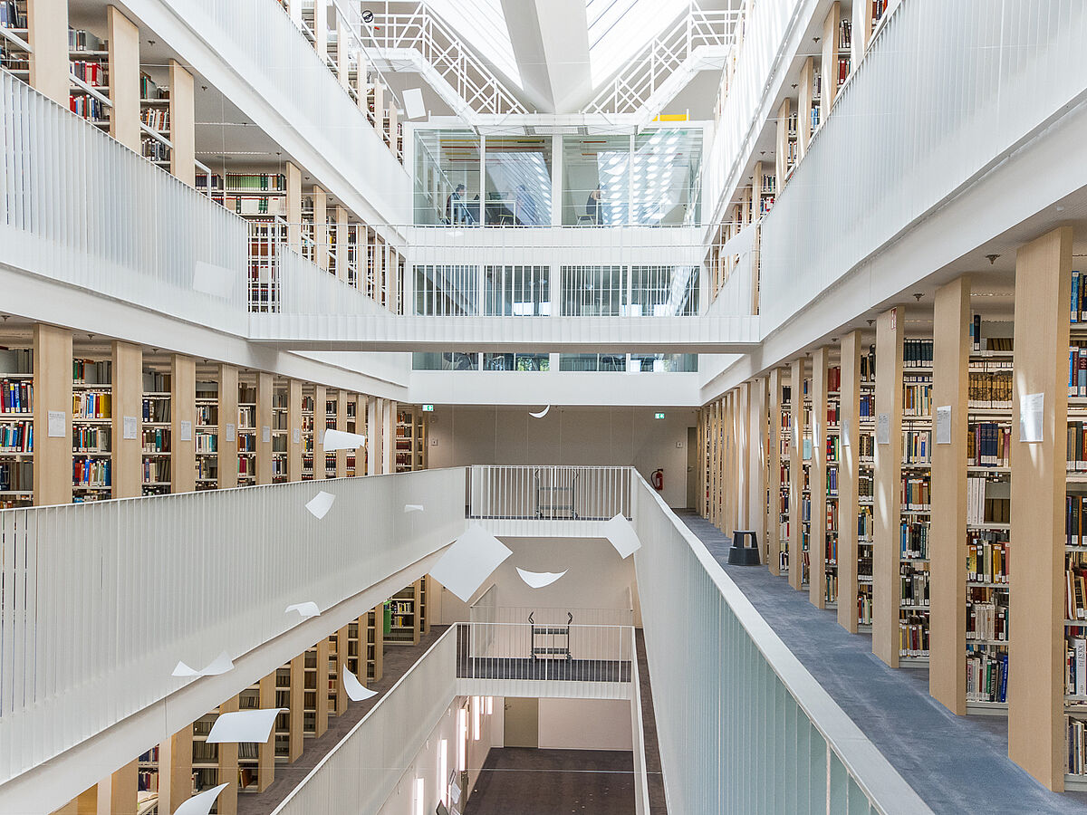 Architecture in the Departmental Libary - photo: Kilian Dorner