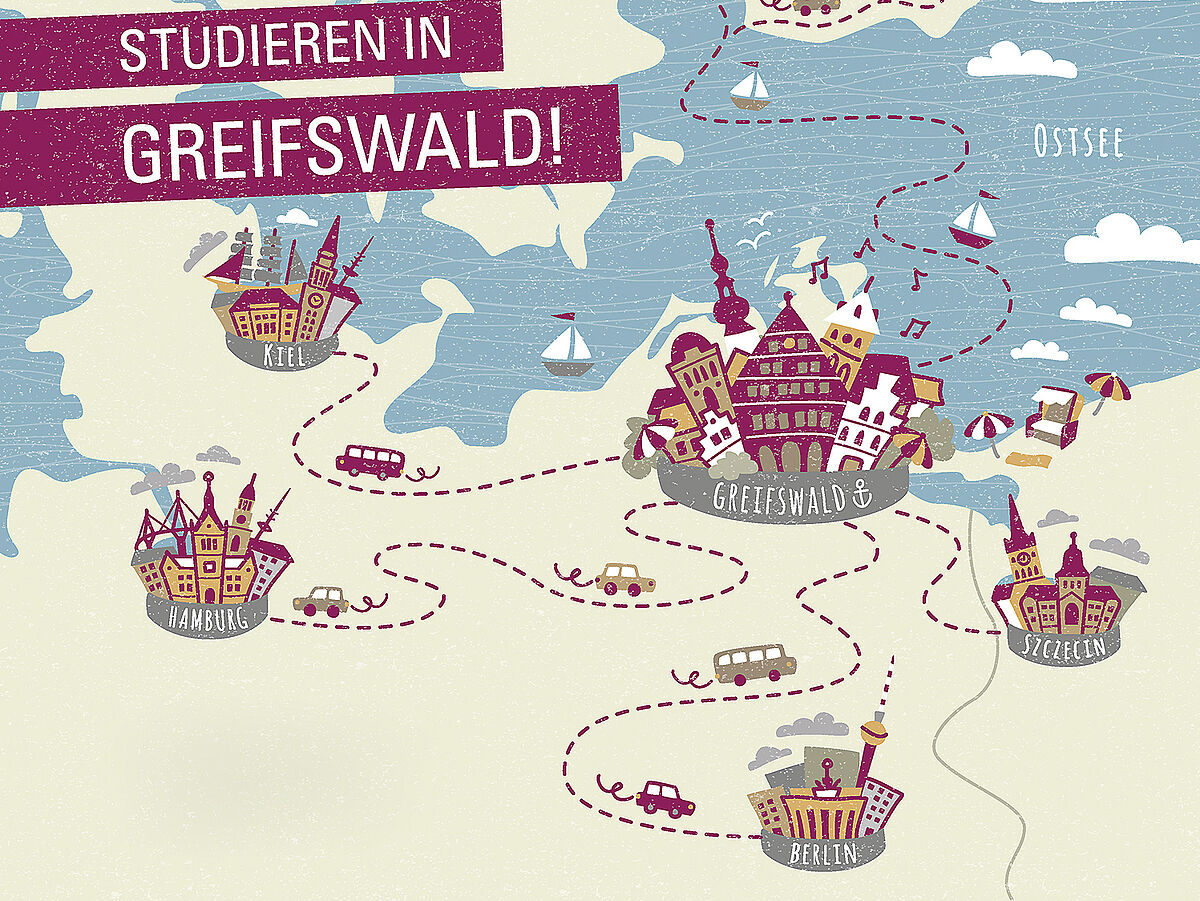 How to get to Greifswald